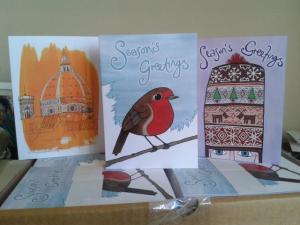 my christmas cards 2012