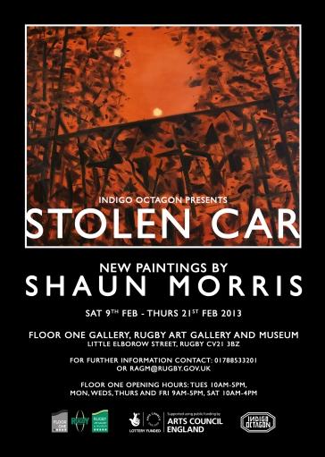 stolen car poster