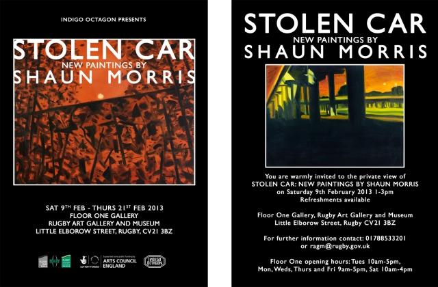 stolen car flyer