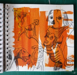 study of grayson perry's dogs