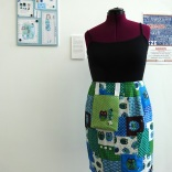 'pouch skirt by ria rozzier