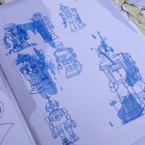 'robots' close up