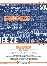 squeeze poster by chris cowdrill