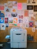 the risograph printer