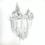 my sketch of a piece by lee bul