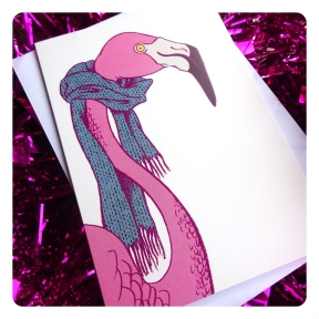 flamingo card a