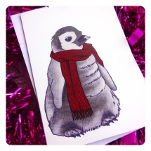 penguin card a