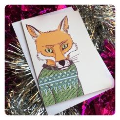 fox card by chris cowdrill