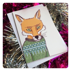 fox card by chris cowdrill