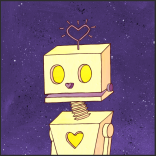 love-bot by chris cowdrill