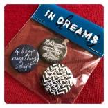 in dreams quotation badges by chris cowdrill