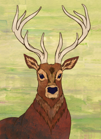 stag (digital) by chris cowdrill